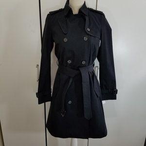 new Zara size S black  trench coat